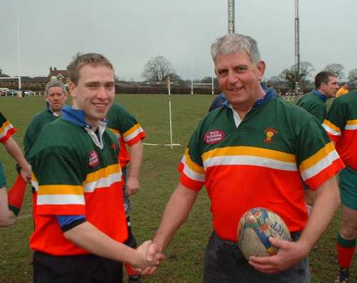 Keith Jones reaches 1000 games for Sandbach